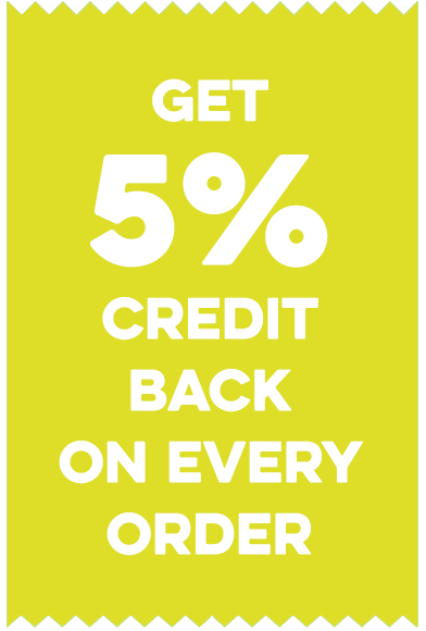 Get credit for shopping