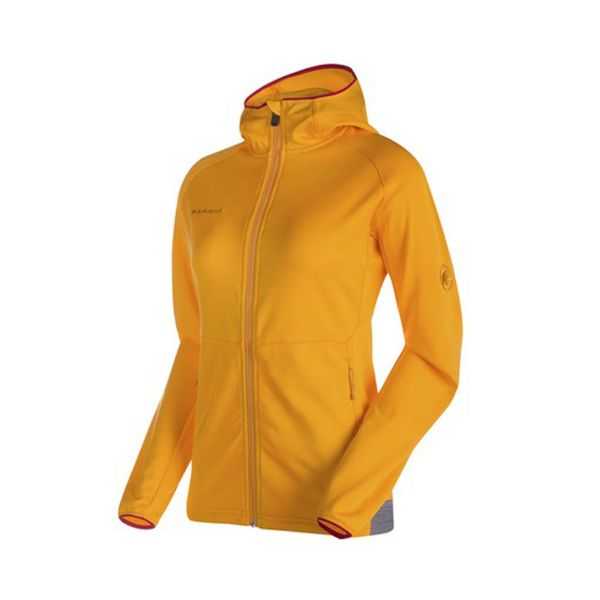 Mammut Get Away ML Hooded Jacket Women polartec lightweight breathable moisture fast drying mid layer hoody jacket