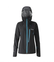 Rab Firewall Jacket Women waterproof windproof pertex shield + breathable rain coat climbing mountaineering hiking walking