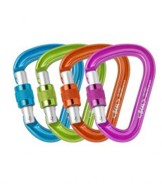 Beal Be Safe Screw hms carabiner screwgate half twin single rope climbing