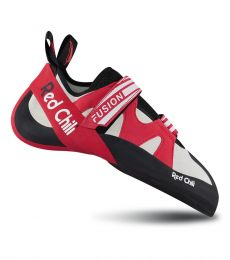 Red Chili Fusion VCR Climbing Shoe bouldering sport climbing velcro downturned aggressive overhanging outdoor indoor