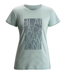 Black Diamond Block Tee S/S Women