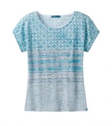 prAna Harlene Top Women recycled polyester organic cotton breathable comfortable climbing bouldering casual