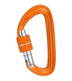 Camp Orbit Lock Carabiner d shape locking screwlock anchors rigging auto blocking device