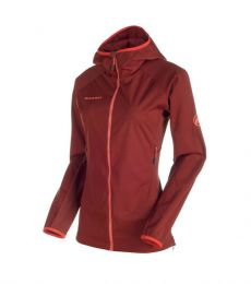 Mammut Keiko Light HS Hooded Jacket Women softshell midlayer